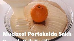 Mucizesi Portakalda Saklı Pamuk Kek Tarifi