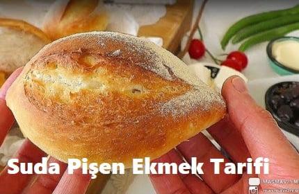 Suda Pişen Ekmek Tarifi 1