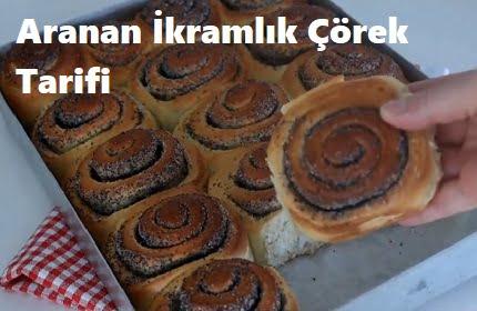 Aranan İkramlık Çörek Tarifi 1