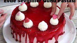 Evde Sevgililer Günü Pastası