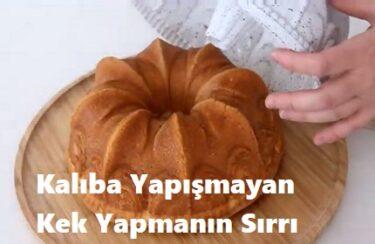 Kalıba Yapışmayan Kek Yapmanın Sırrı 1