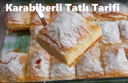 Karabiberli Tatlı Tarifi