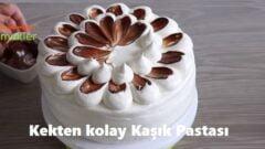 Kekten kolay Kaşık Pastası