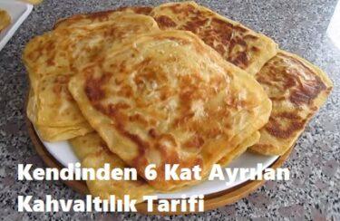 Kendinden 6 Kat Ayrılan Kahvaltılık Tarifi 1