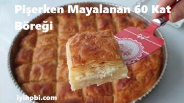 Pişerken Mayalanan 60 Kat Böreği 1