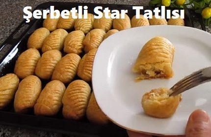 Şerbetli Star Tatlısı
