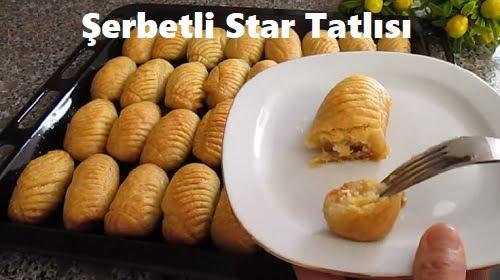 Şerbetli Star Tatlısı 1