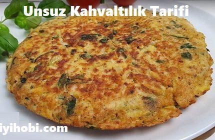 Unsuz Kahvaltılık Tarifi