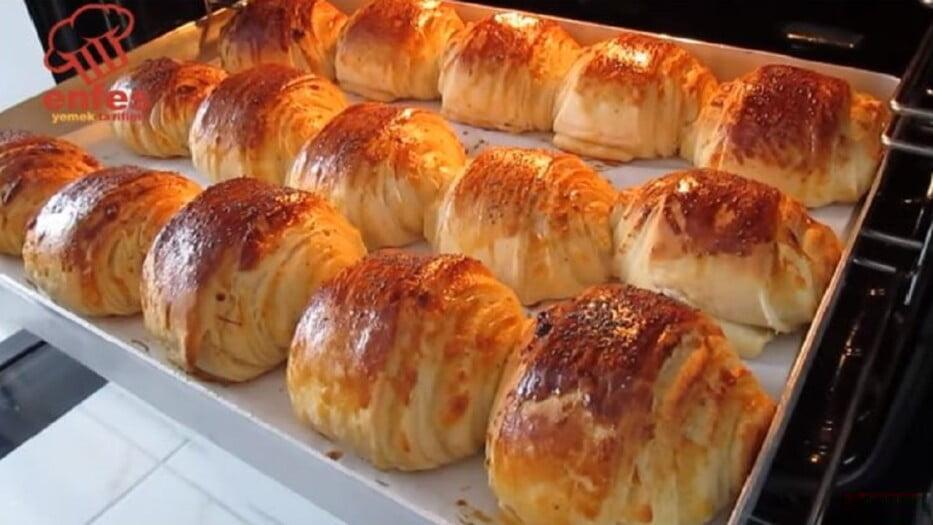 Herkesin Hayran Kalacağı Tarif İsteyeceği Kahvaltı Çöreği 1
